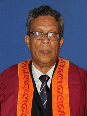 Prof. Narada Warnasuriya